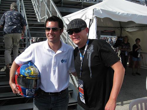 Blu Frog Energy Takes Me to Daytona for NASCAR Racing