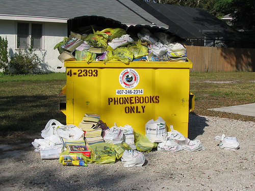 Don't Advertise in Phone Books!