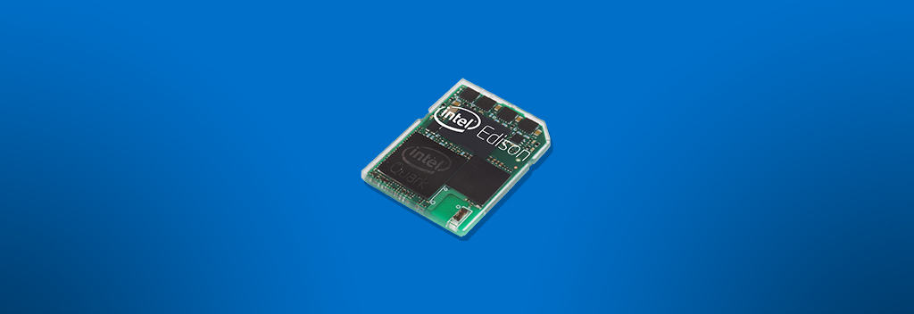 Intel Edison : The SD Card-Sized Computer
